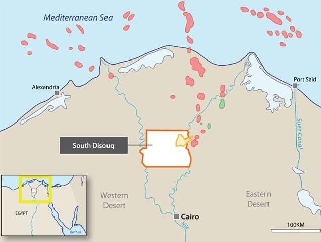 SDX southdisouq - SDX Energy PLC (LON:SDX) Commercial discovery at Sobhi well in Egypt