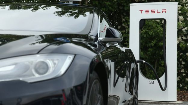 Tesla recharging - Tesla Stock Speeds Toward Brink as Analyst Warns of 'Outright Disaster'