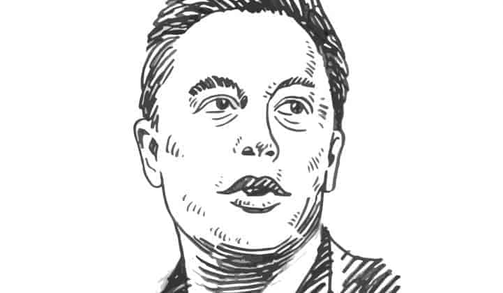 Musk Sketch 721 420 80 s c1 - Tesla's Origin Story in One Giant Infographic