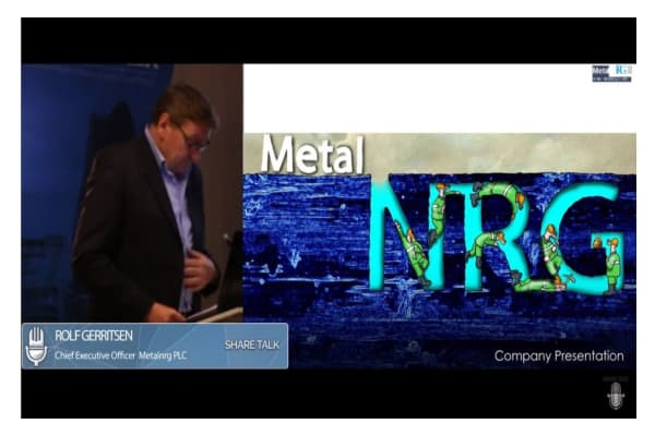 Capture 8 - Rolf Gerritsen, Chief Executive Officer Metalnrg PLC (MNRG:NEX Exchange) Video