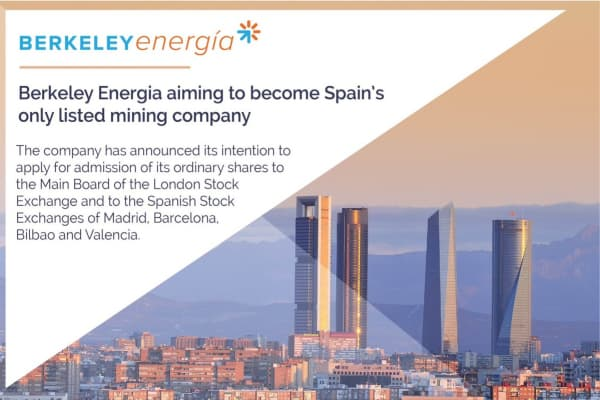 DcLMeQZWsAA7Rcx - Berkeley Energia (ASX:AIM:BKY) Intention to list on Main Board LSE and in Spain