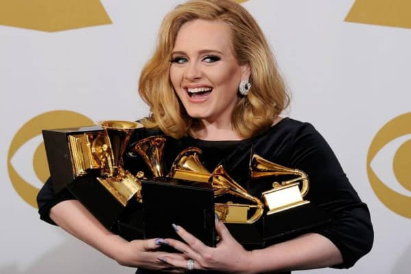 adele grammys - London tech firm MelodyVR launches virtual reality concerts app