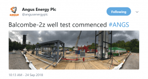 Image 2018 09 27 at 8.43.13 AM 300x160 - Angus Energy (AIM:ANGS) commence the Flow Test at Balcombe.