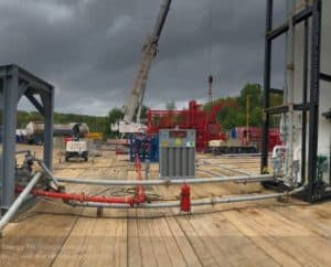 sitephoto2 e1537955961195 300x242 - Angus Energy (AIM:ANGS) commence the Flow Test at Balcombe.