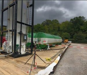 sitephoto3 e1537955975724 300x259 - Angus Energy (AIM:ANGS) commence the Flow Test at Balcombe.