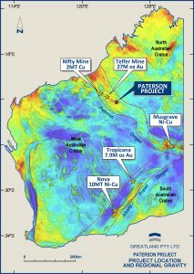 Map Of Australia Gold Rush.Rio Tinto Led Staking Rush Hits Australia S Paterson Province