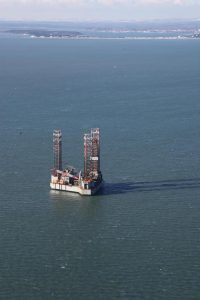 oil rig bliss1 200x300 - Corallian Energy oil rig arrives ahead of drilling in Poole Bay