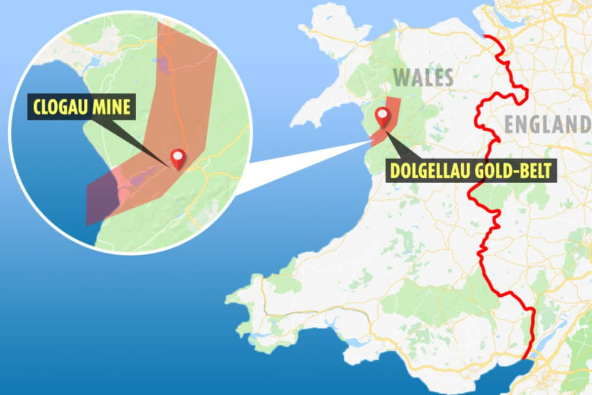 stencil 1 - Explorers discover incredible haul of royal gold hidden in mountains in North Wales