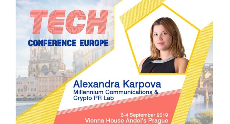 stencil 2 6 750x406 - Alexandra Karpova (Co-Founder &  CEO at Millennium Communications) at TCE2019 Prague