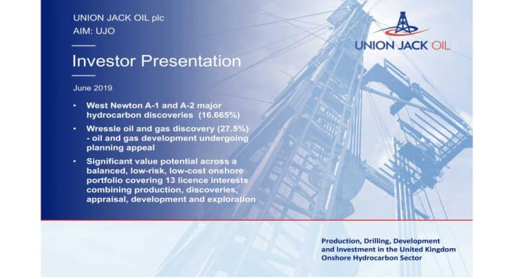 stencil 25 750x406 - Union Jack Oil PLC (LON:UJO) West Newton Update and Investor Presentation