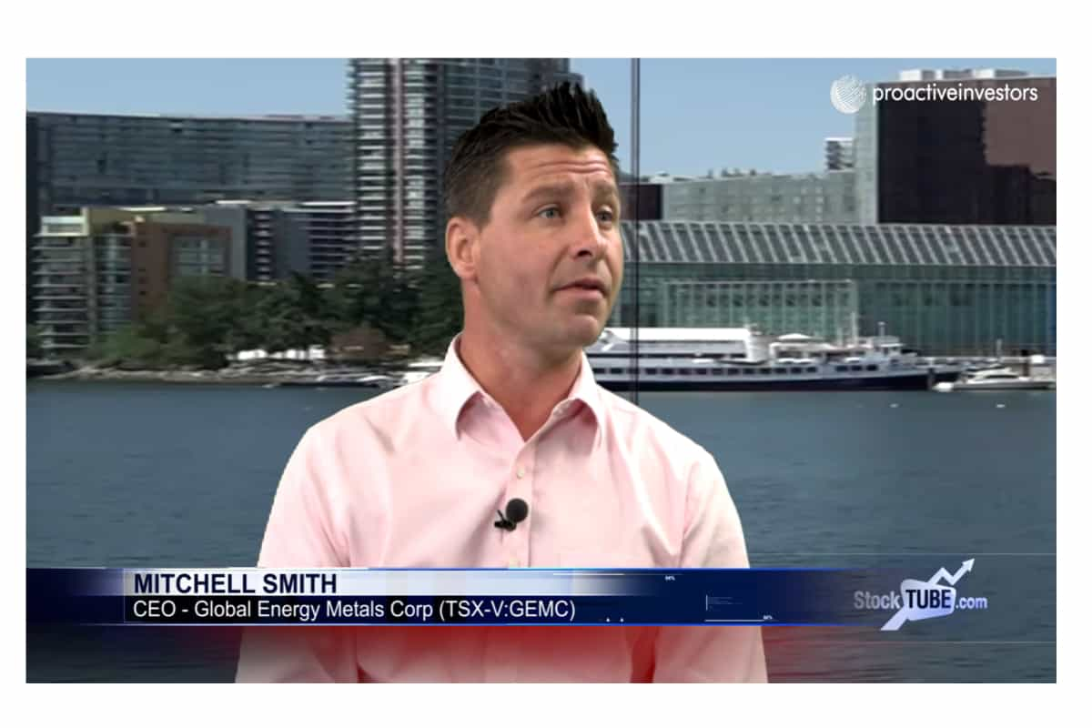 stencil 3 2 - Global Energy Metals (CVE:GEMC) President, CEO Mitchell Smith and CEO of Canada Cobalt Works Frank Basa