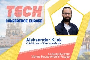 Aleksander Kijek Announcements Tech 2019 300x200 - Tech Conference Europe 3-4 September 2019, Prague