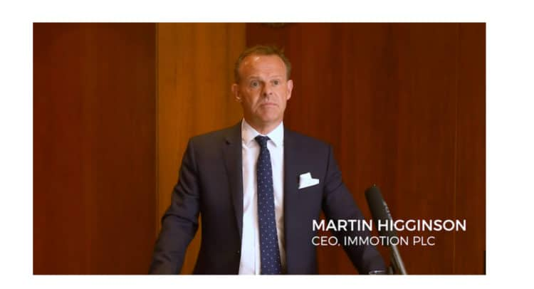 ASM 1 750x406 - Martin Higginson, CEO of Immotion Group (LON:IMMO) Podcast Update