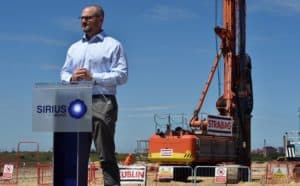 0 WITH VIDEOGround breaking ceremony to mark the start of work at Sirius Minerals site at Wilton 300x186 - Sirius Minerals shares rise after revised multi-billion pound funding