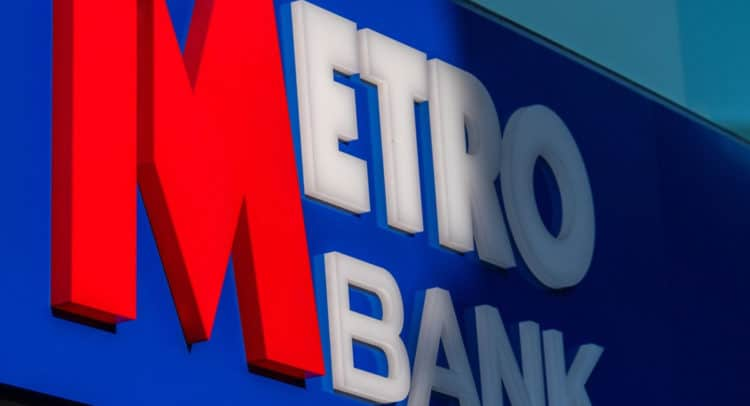 MTRO 750x406 - Metro Bank (LON:MTRO) A Trendline Break with Lloyds Banking (LON:LLOY) being a suitor,