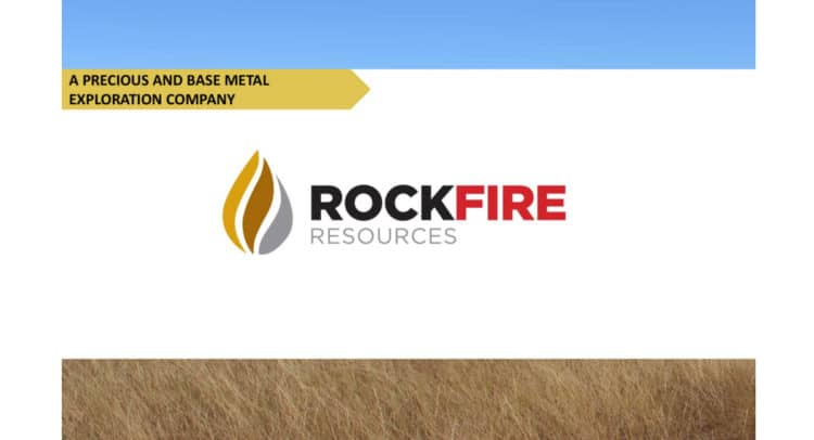 ROCK 750x406 - Rockfire Resources (LON:ROCK) Exercise of warrants and issue of equity