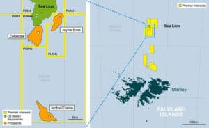 falkland offshore licenses premier fogl 300x184 - Rockhopper Exp plc (LON:RKH) Heads of Terms with Navitas to farm-in to Sea Lion