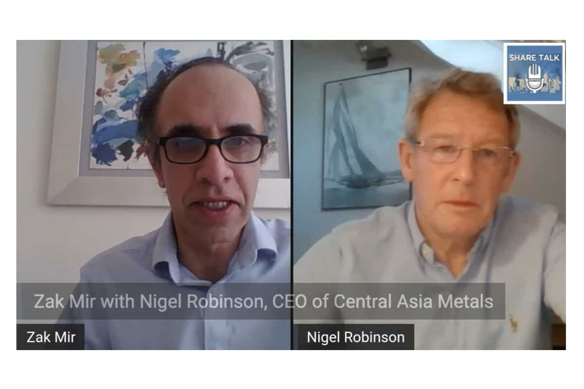 ASIA - Central Asia Metals Plc (CAML.L) Nigel Robinson, Chief Executive Officer Update