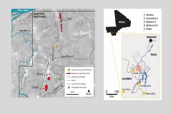 CORA - Cora Gold Limited (CORA.L) First Drill Results from Madina Foulbé Permit in Senegal