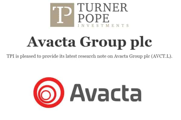 avct - TPI provides its latest research note on Avacta Group plc (AVCT.L)