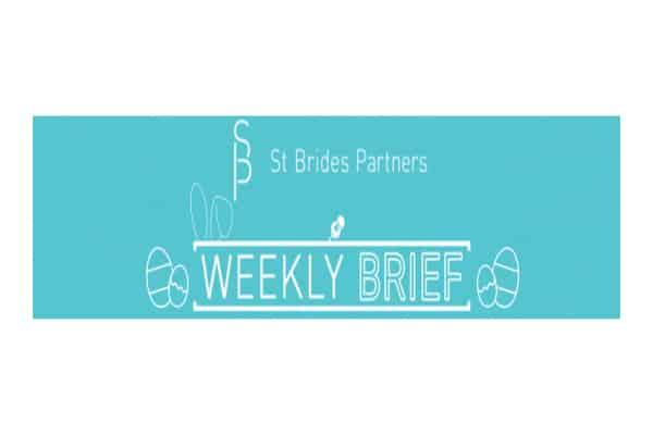 st brides - St Brides Partners Weekly Brief, 18th April 2020