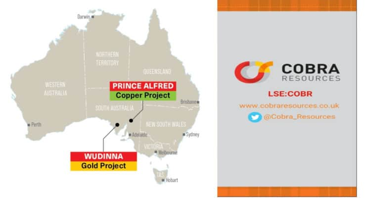 cobr 750x406 - Cobra Resources PLC (COBR.L) Announcement of Year End Results
