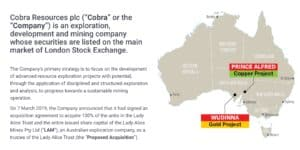 img 0265 300x150 - Cobra Resource (COBR.L) poised for an upward share movement?