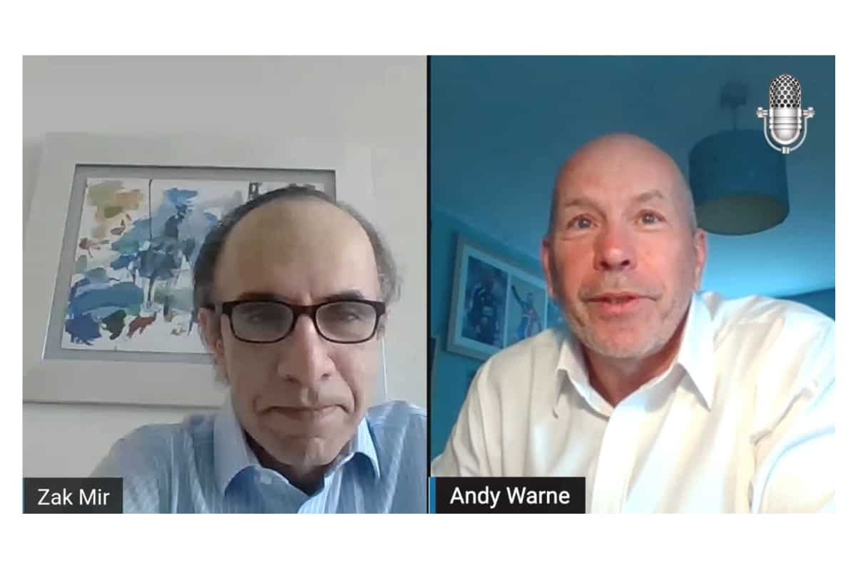 milk - Andy Warne, Managing Director of National Milk Records (NMRP.L) Video Podcast