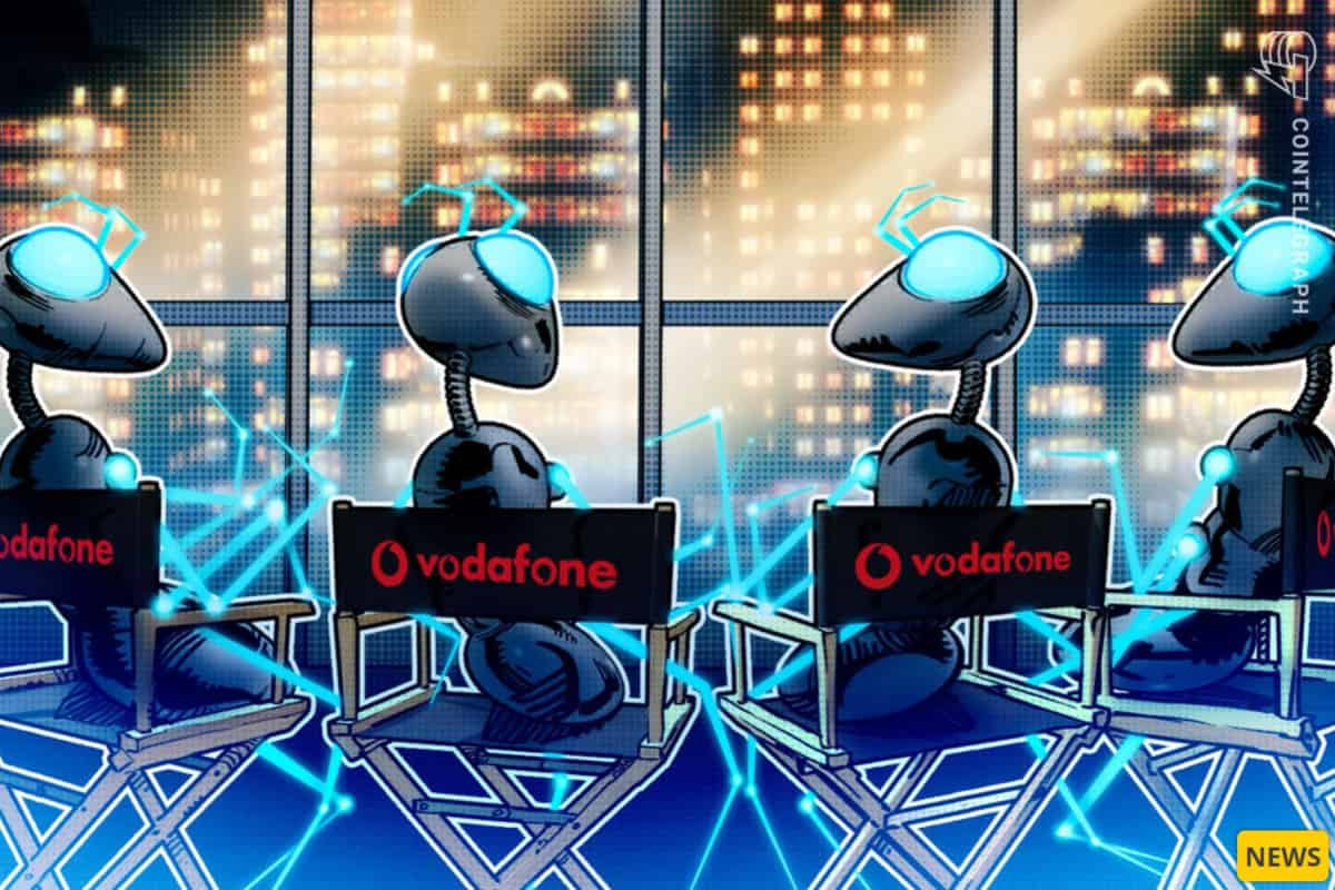 vodaphone - Vodafone to Connect 'Billions' of Energy Producing Devices Using Blockchain