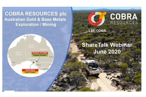COBR - Investor Presentation and Q&A Session with Cobra Resources PLC (COBR.L)