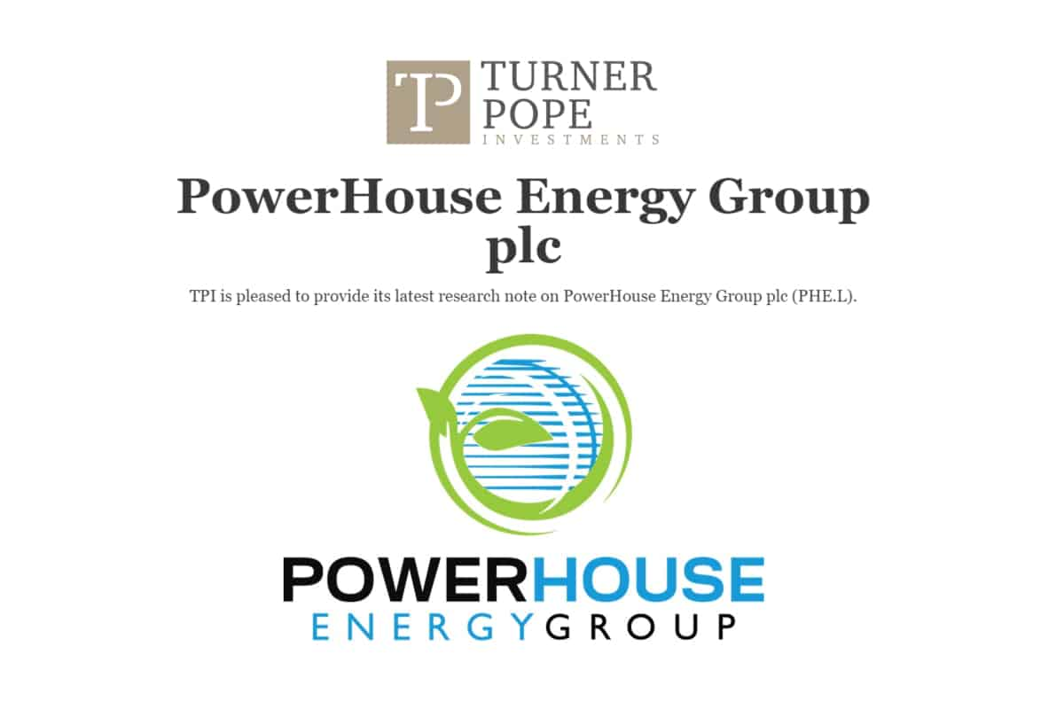 POW 2 - TPI provides its latest research note on PowerHouse Energy Group plc (PHE.L).