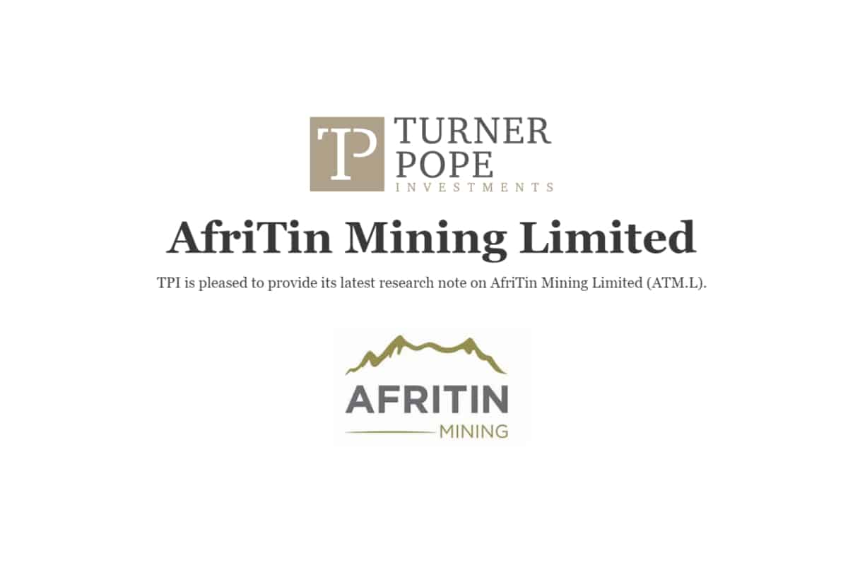 atm - TPI provides its latest research note on AfriTin Mining Limited (ATM.L).