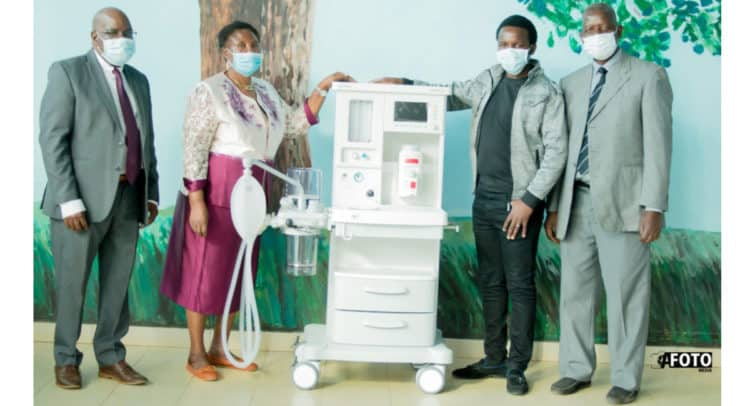 mka 750x406 - Mkango Resources Ltd donate the state-of-the-art anaesthetic machine to assist Malawi - COVID19
