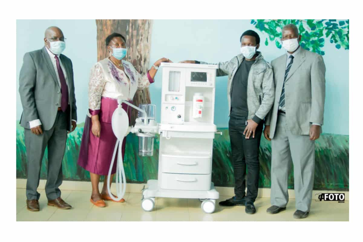 mka - Mkango Resources Ltd donate the state-of-the-art anaesthetic machine to assist Malawi - COVID19