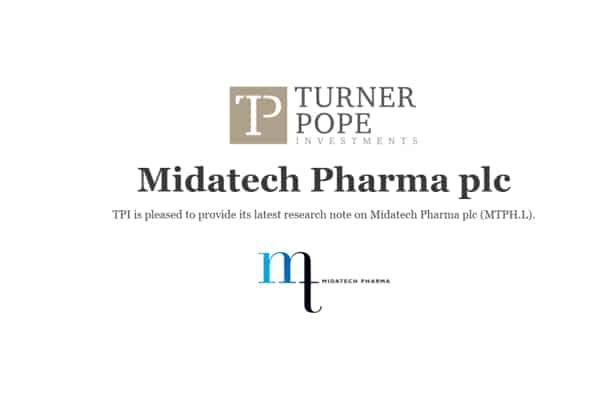 mtph - TPI provides its latest research note on Midatech Pharma plc (MTPH.L).