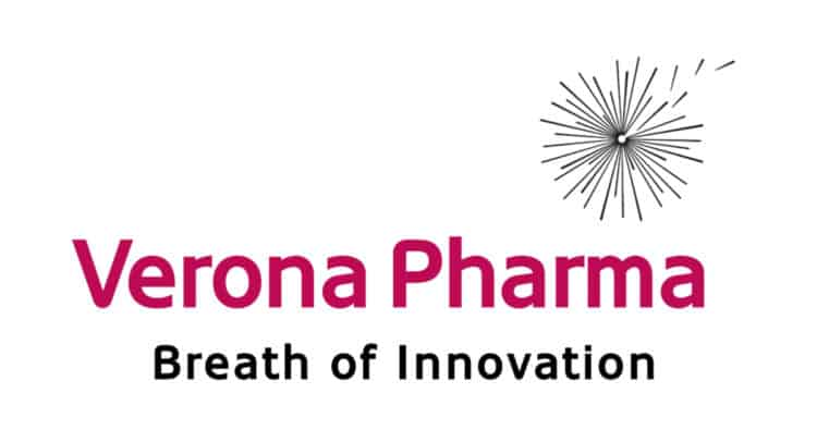 VER 750x406 - Verona Pharma plc (VRP.L)  $200 Million in Oversubscribed Private Placement and Subscription