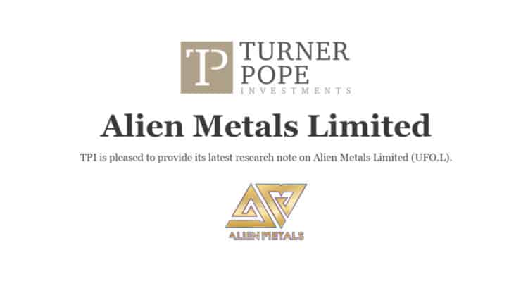 UFO 1 750x406 - TPI provides its latest research note on Alien Metals Limited (UFO.L).