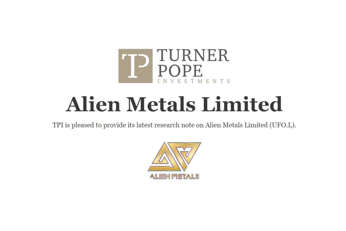 UFO 1 - TPI provides its latest research note on Alien Metals Limited (UFO.L).