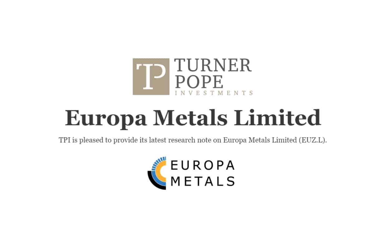 eua 1 - TPI provides its latest research note on Europa Metals Limited (EUZ.L).