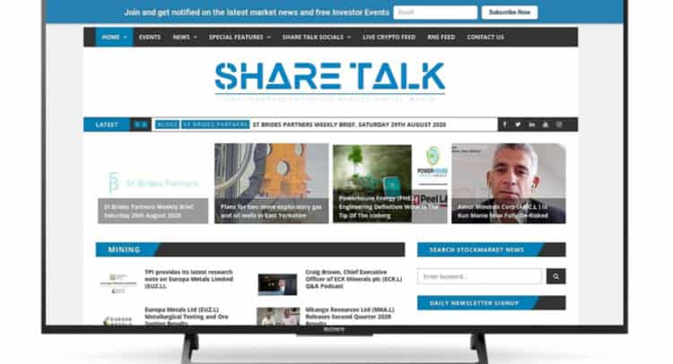 st 2 750x406 - Share Talk Weekly Stock Market News, Sunday 30th August 2020