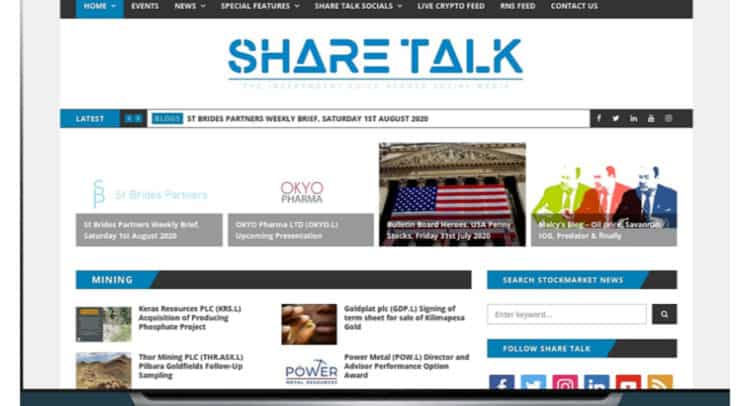 st 750x406 - Share Talk Weekly Stock Market News, 2nd August 2020