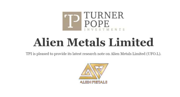 ufo 2 750x406 - TPI provides its latest research note on Alien Metals Limited (UFO.L).