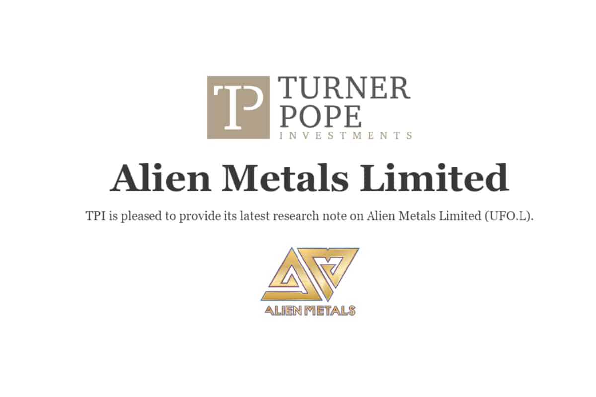 ufo 2 - TPI provides its latest research note on Alien Metals Limited (UFO.L).