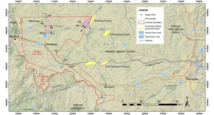 MKA 750x406 - Mkango Resources Ltd (MKA.TSX.L) Announces Rutile and Ilmenite Discovery In Malawi