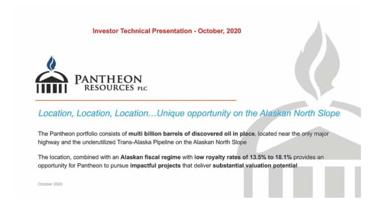 PANR 750x406 - Pantheon Resources Plc (PANR.L) Investor Presentation and Q&A Session