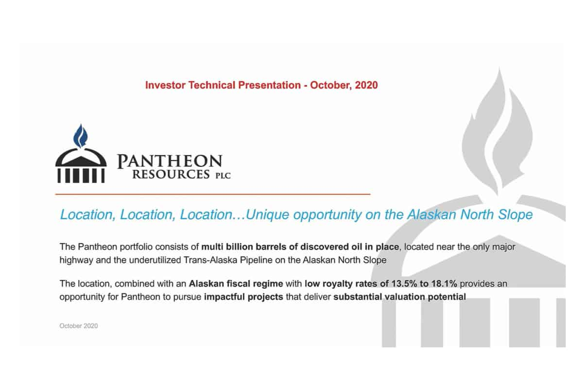 PANR - Pantheon Resources Plc (PANR.L) Investor Presentation and Q&A Session