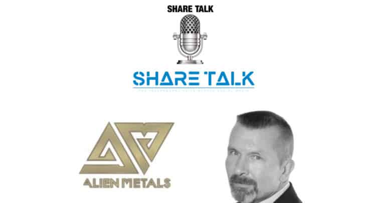 UFO 750x406 - Bill Brodie Good, CEO & Technical Director of Alien Metals (UFO.L) Interview