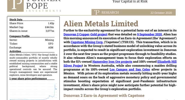 ufo 4 750x406 - TPI provides its latest research note on Alien Metals Limited (UFO.L)