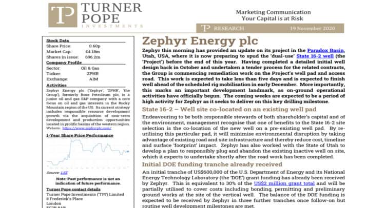 OIL 1 750x406 - TPI provides its latest research note on Zephyr Energy plc (ZPHR.L).
